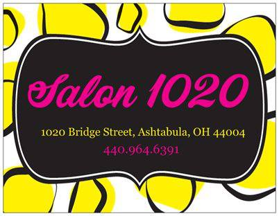 Solon 1020 - 1020 Bridge Street * (440) 964-6391Salon Ten Twenty is celebrating 13 years of beautifying Ashtabula! We are the BEST in Ashtabula County, just ask any of our clients! If you aren't here, you should be!