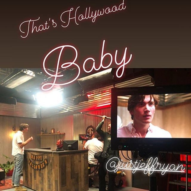 The last day of filming That's Hollywood Baby!  #thatshollywoodbaby #fnfilms