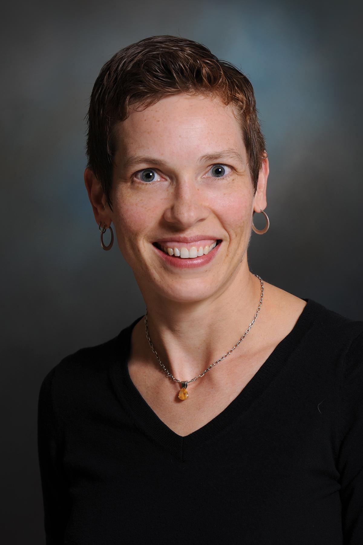 Lead author Dr. Erin Krebs