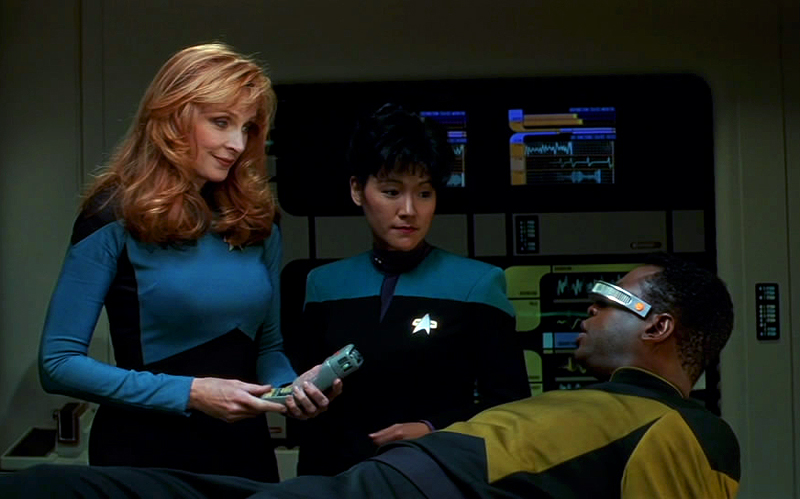 Wait - I don't have a prior auth for this tricorder scan.