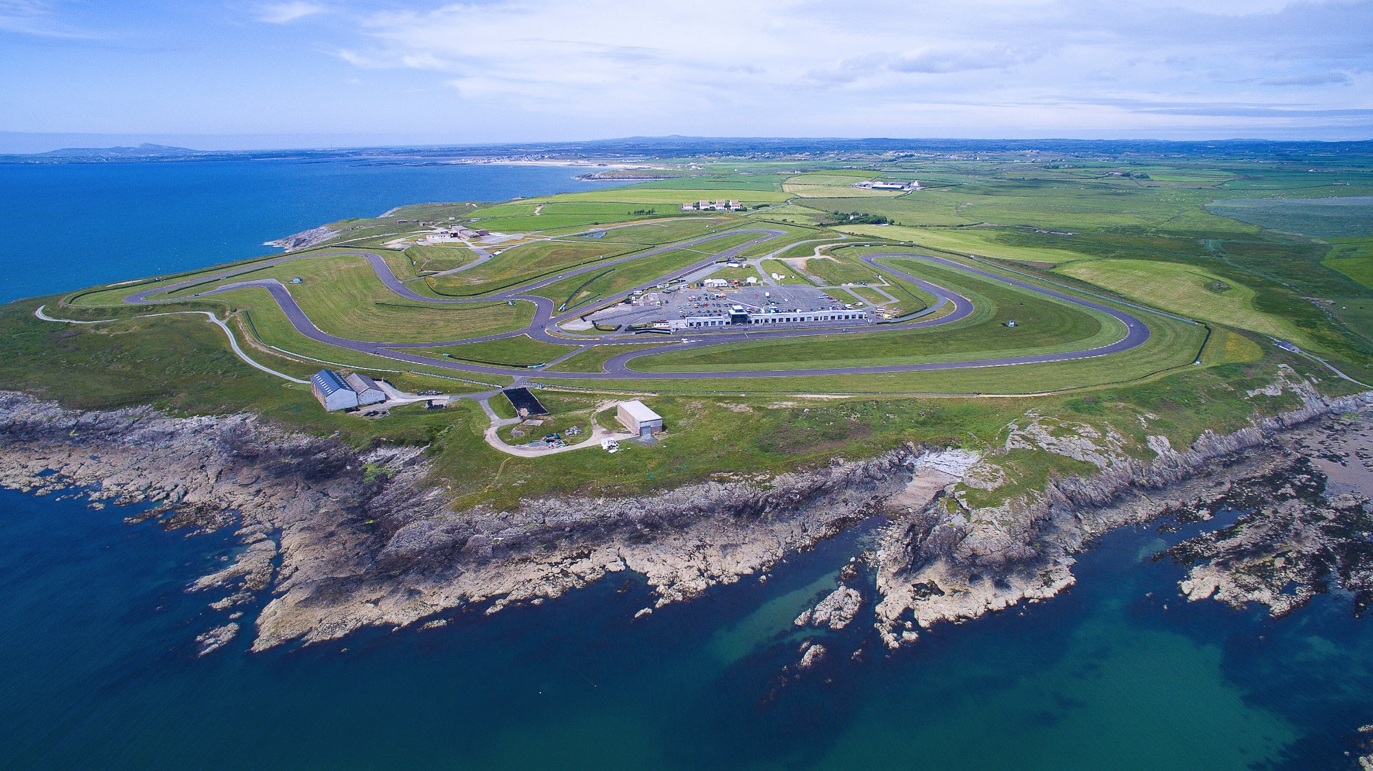 Angelesey Circuit located in Ty Croes, Anglesey, Wales.