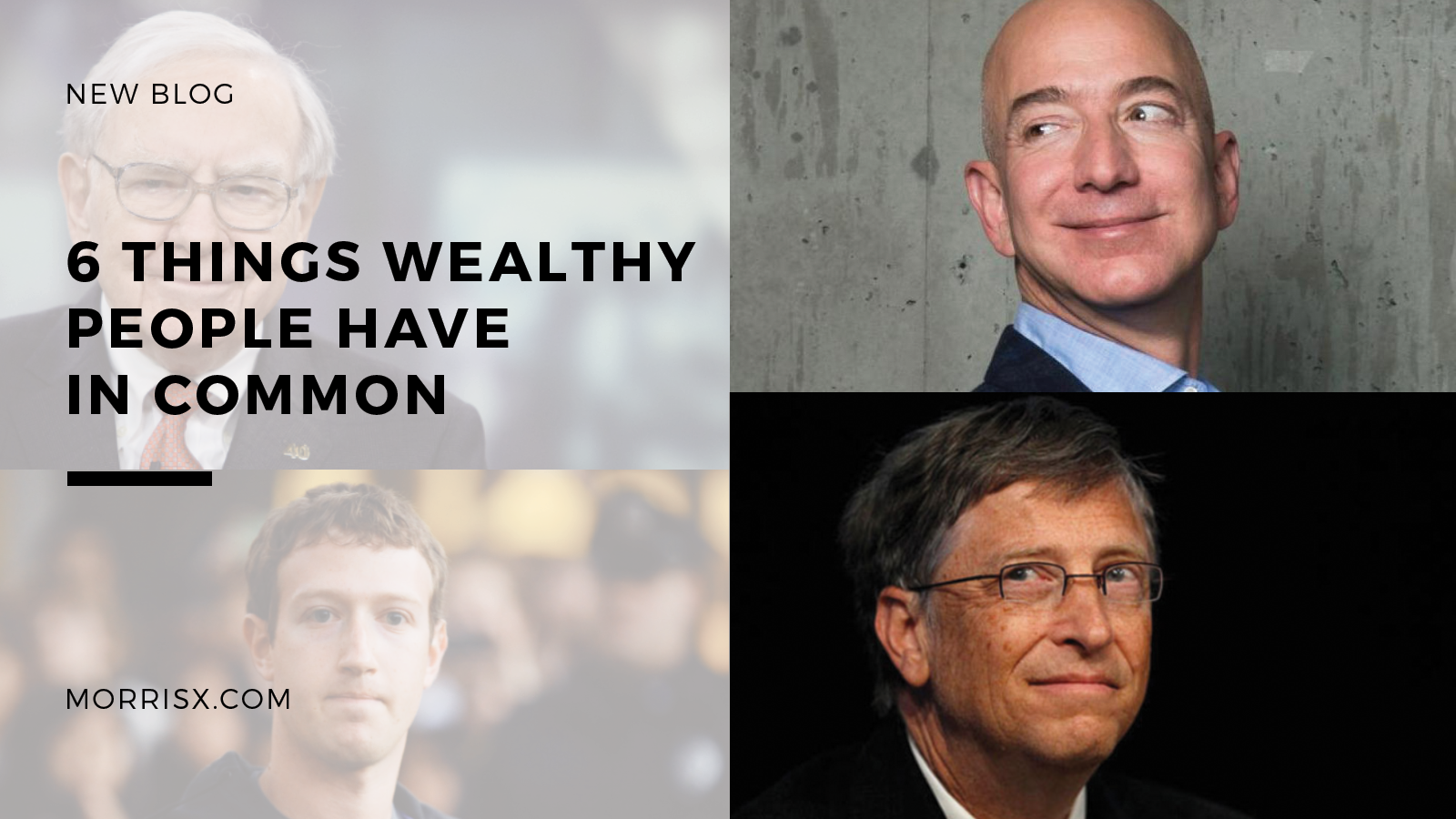 6 Things Wealthy People Have in Common