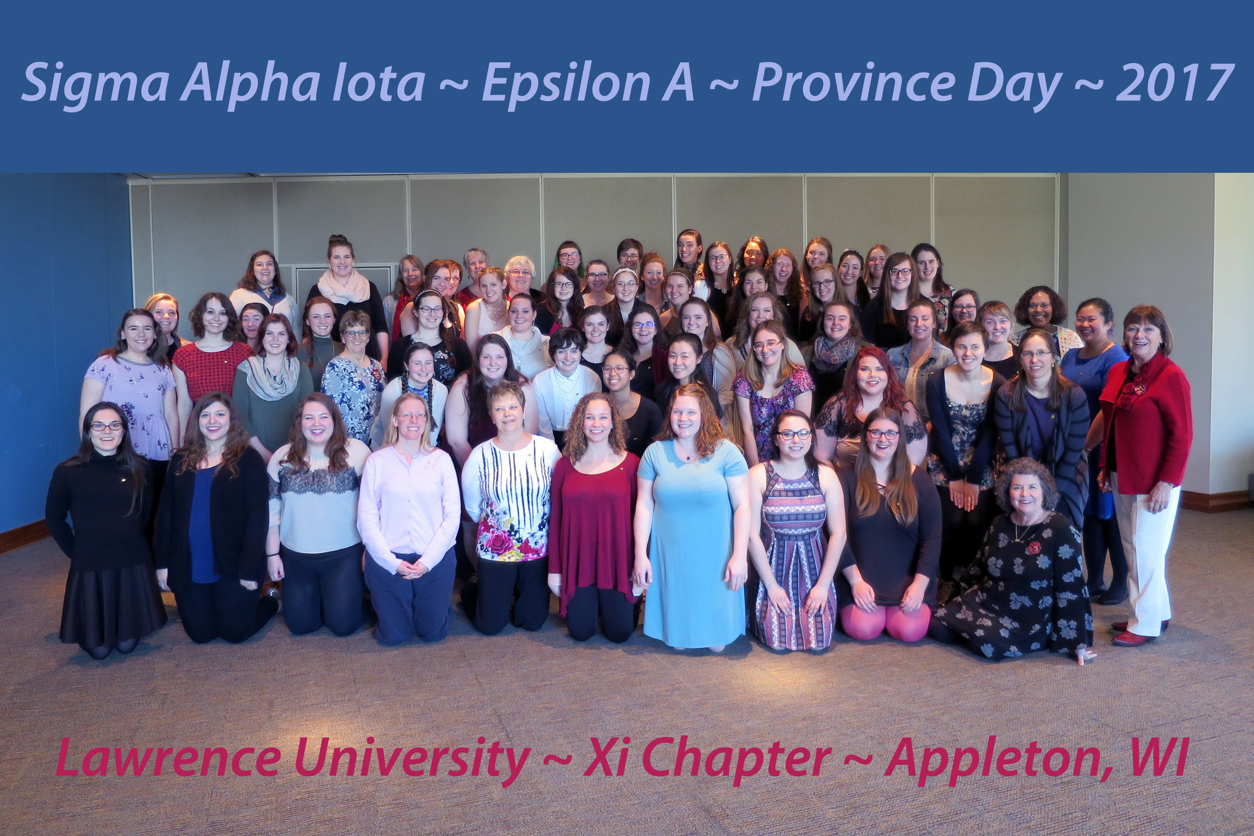 Epsilon A Province Day, 2017 - Hosted by Xi Chapter