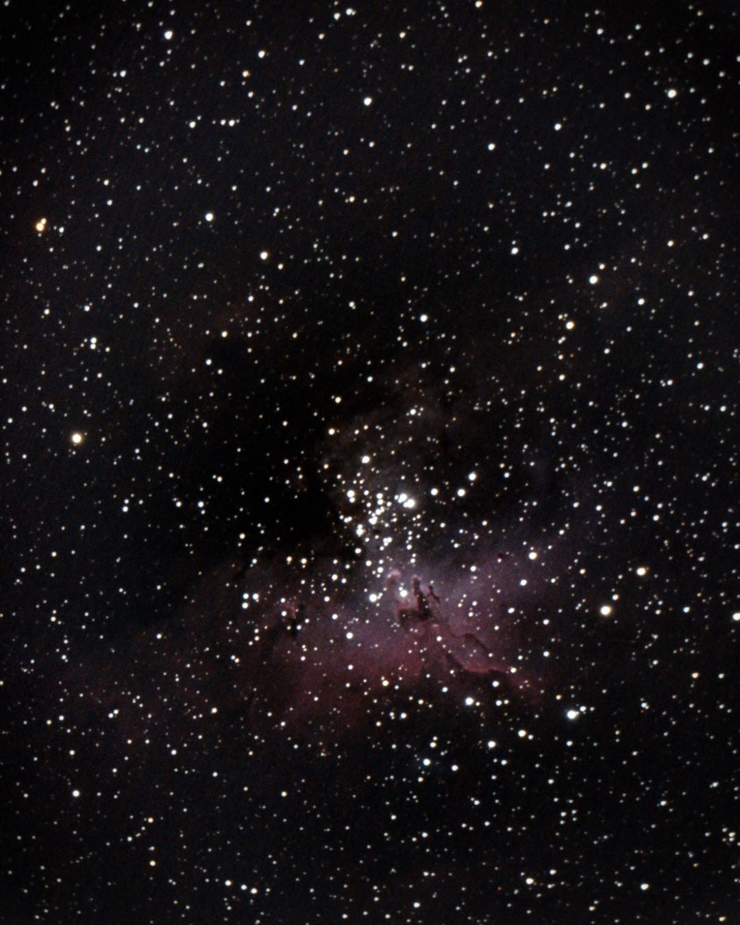 The Eagle Nebula - Messier 16 - NGC 6611