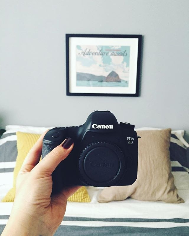 Starting out on a new adventure...with some new digs.  #canon6d
