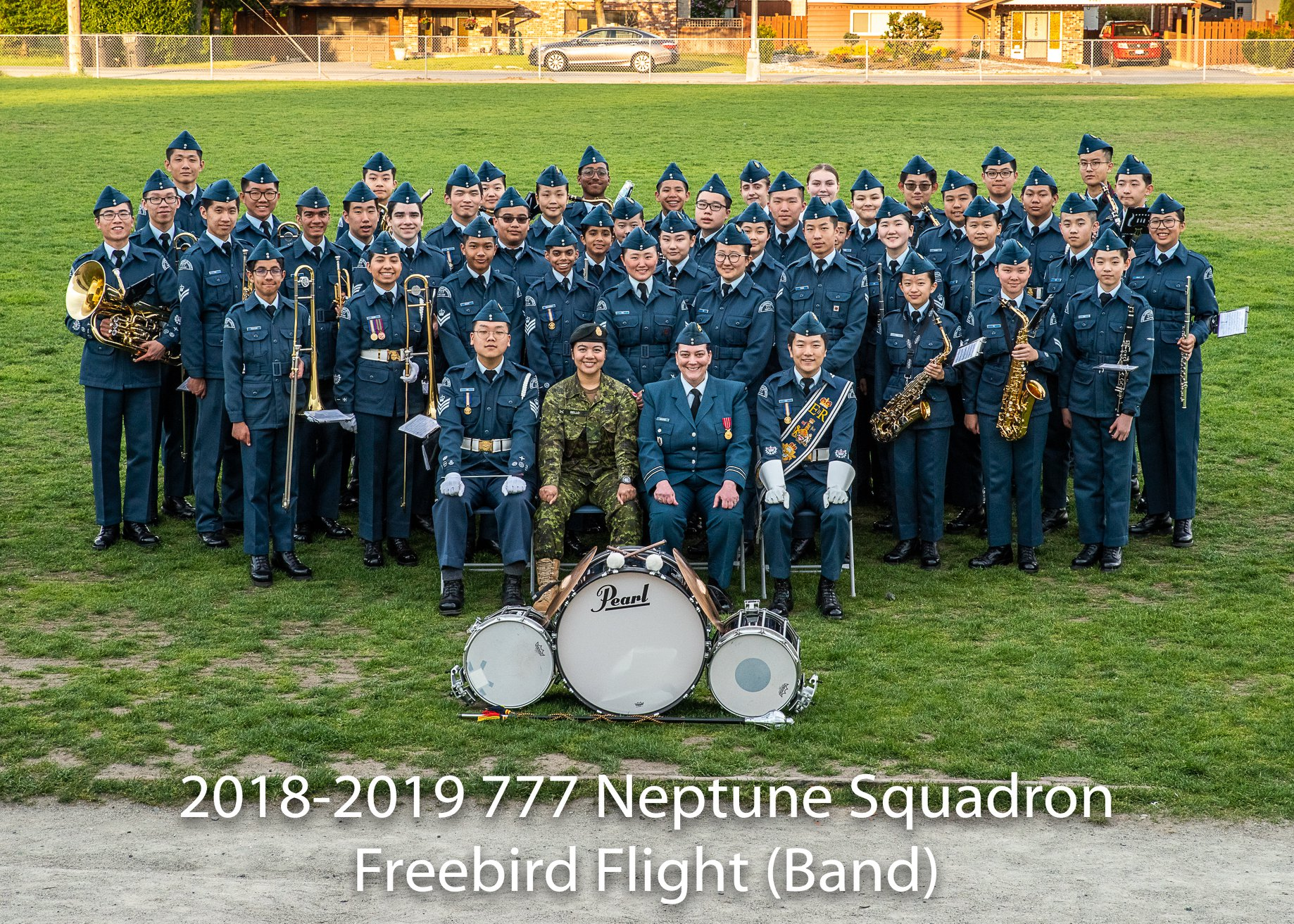 777 forte Band 2018-2019 (third Place A Division Band)