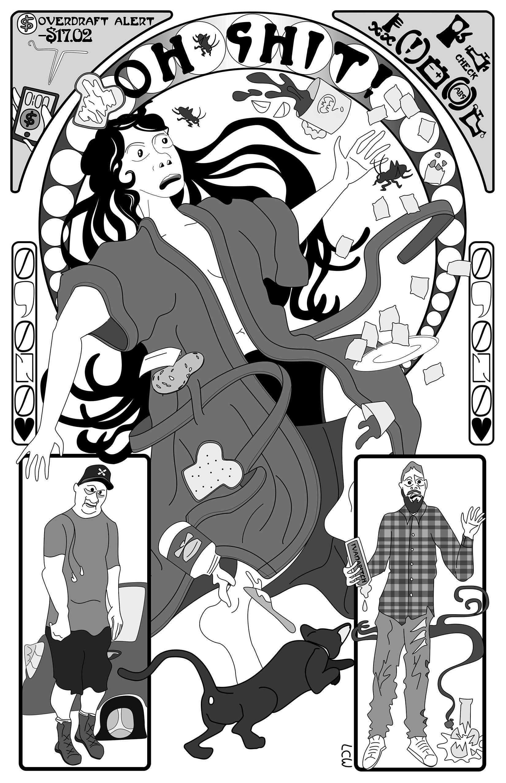 Street Fight ' Failure ' Zine Illustration (2019)