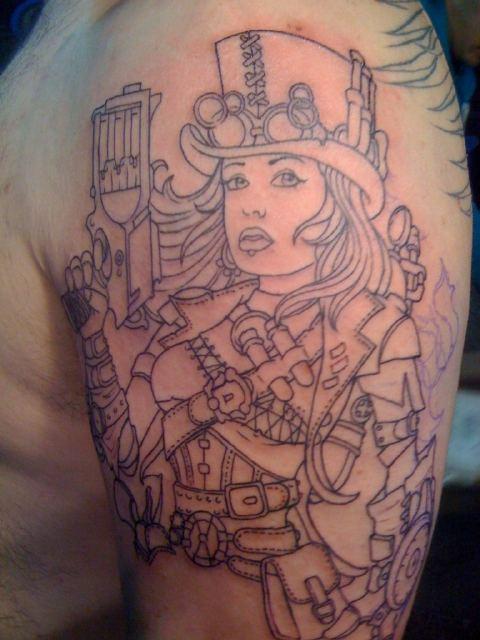 Danny The Machine's Tattoo
