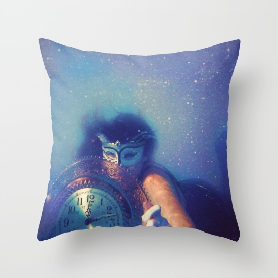 underwater photography art galaxy pillow masquerade