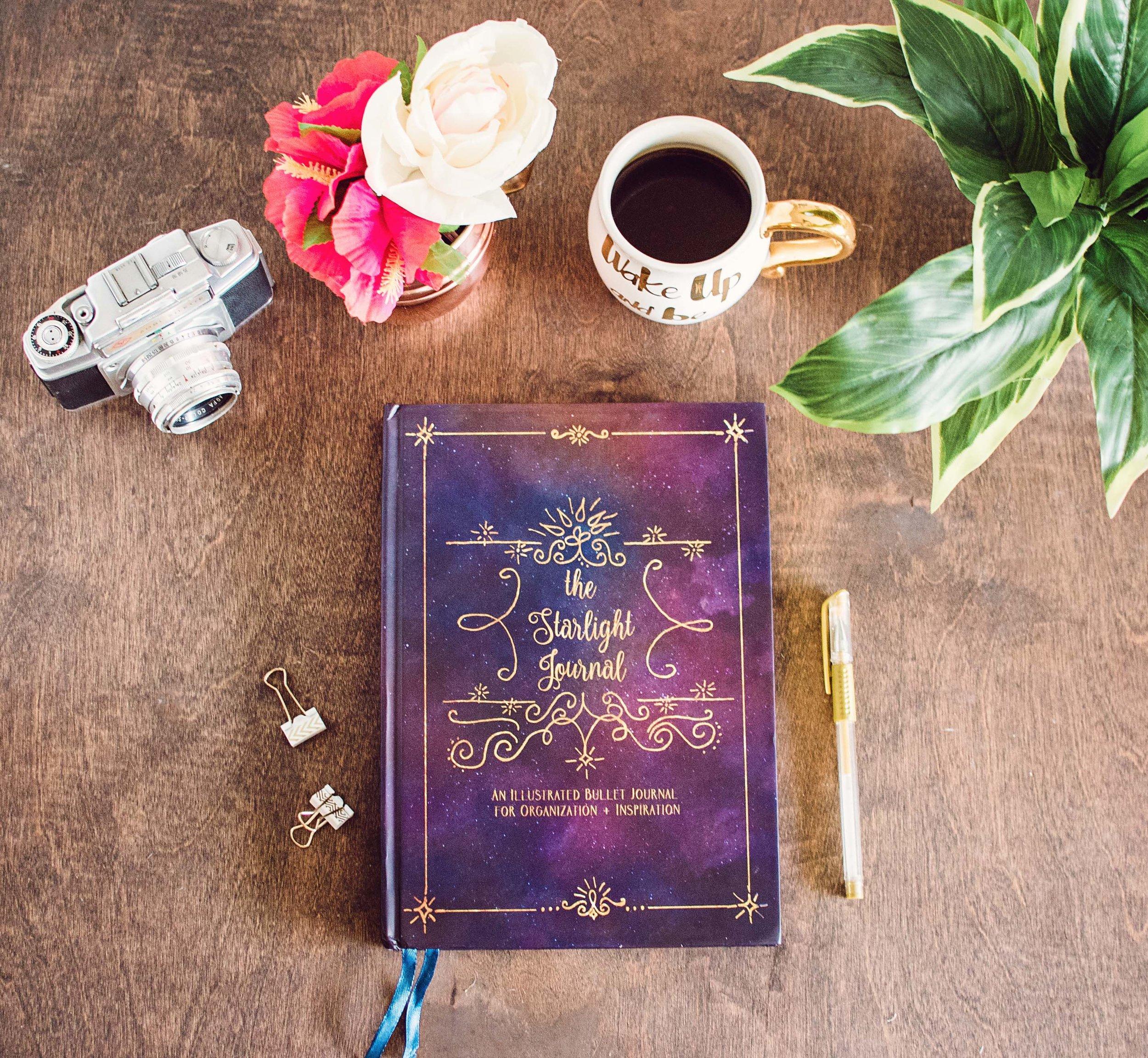 starlight illustrated bullet journal sketchbook 1