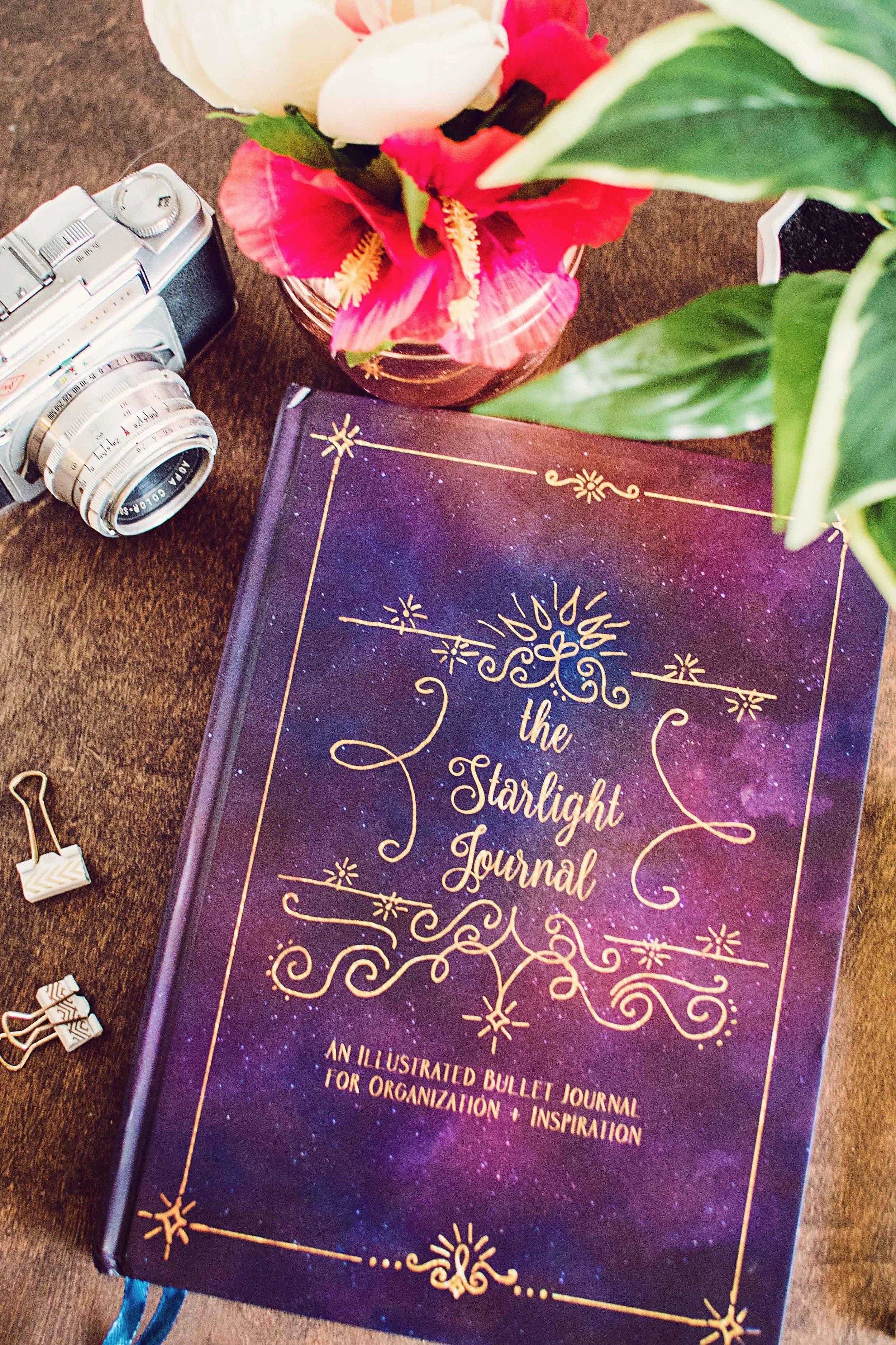 starlight illustrated bullet journal sketchbook 10