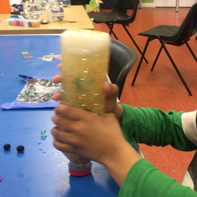 Chill Out! Sensory Workshop at Stitches in Time for the Easter Playscheme in East London