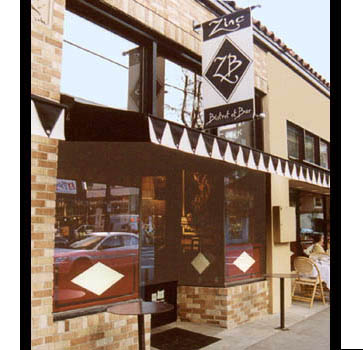 Zinc Bistrot, Exterior color and design by Art First, Portland OR