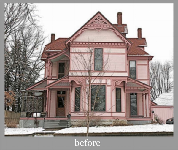 Clients in Missouri hired Art First to make a big improvement in their Exterior Colors.