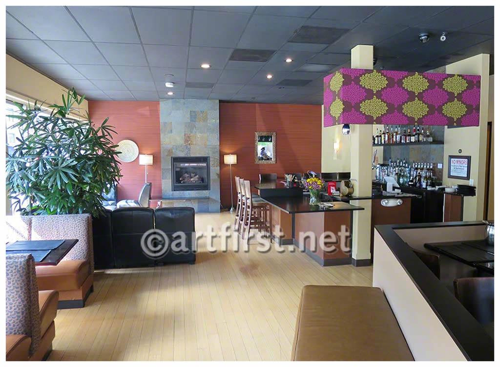 Interior Design for Dil Se Indian Cuisine