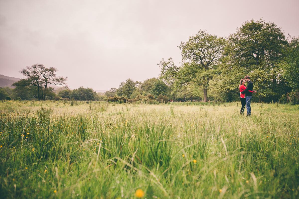 Forge Valley Ayton Engagement Shoot by Scarborough based Yorkshire wedding photographer