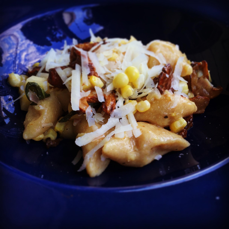 Japanese Sweet Potato Gnocchi