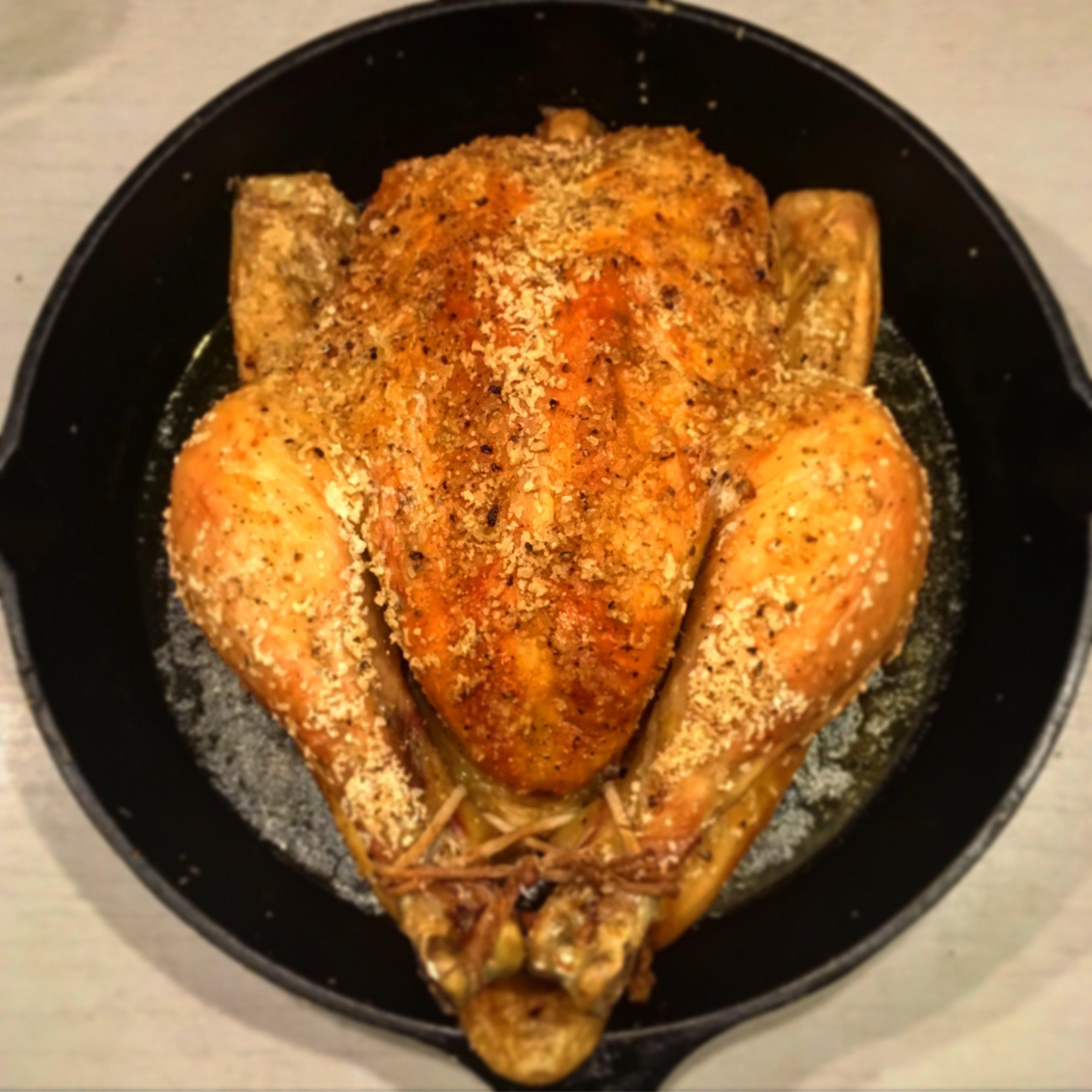 Decadent Roast Chicken
