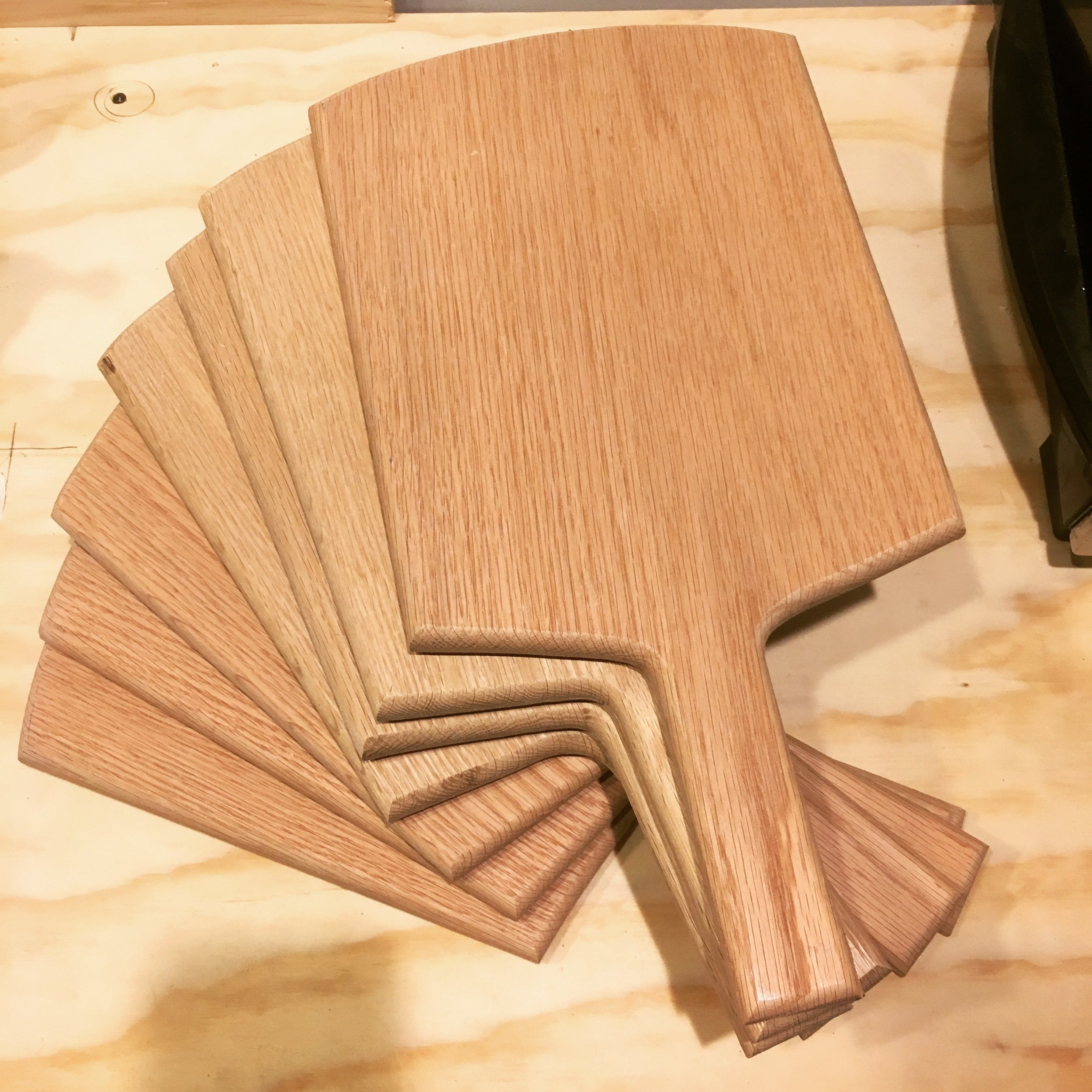 Restaurant reving boards.JPG
