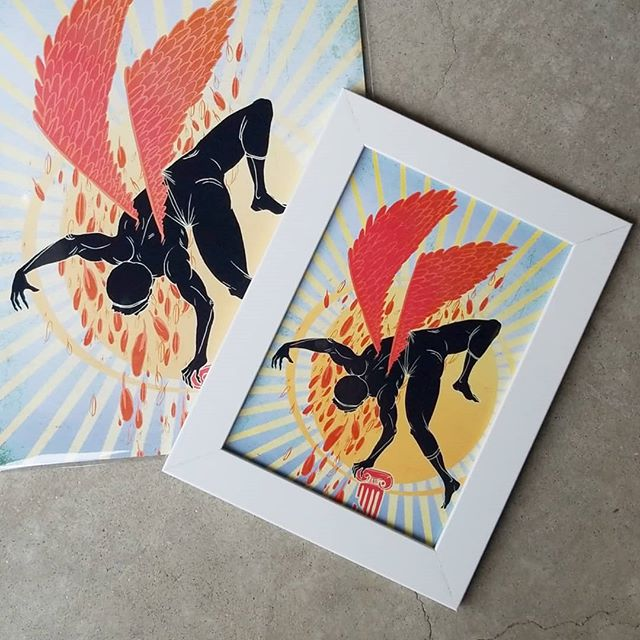"""The Fall of Icarus"" 
