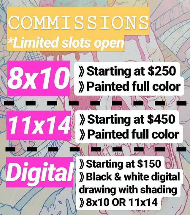 👋🏼Commissions are open! Finishing my first holiday commission of the year this week. I only have a handful of slots left open to ensure completion before Christmas. Give the gift of custom art this holiday to your special someone. I absolutely love working on commissions for my clients. Few things make me more satisfied than bringing another's personal vision to life. DM me or email me to get started on your painting project . 📧Amandapratherstudio@gmail.com . Have a question about my creative process? Ask me below🙂