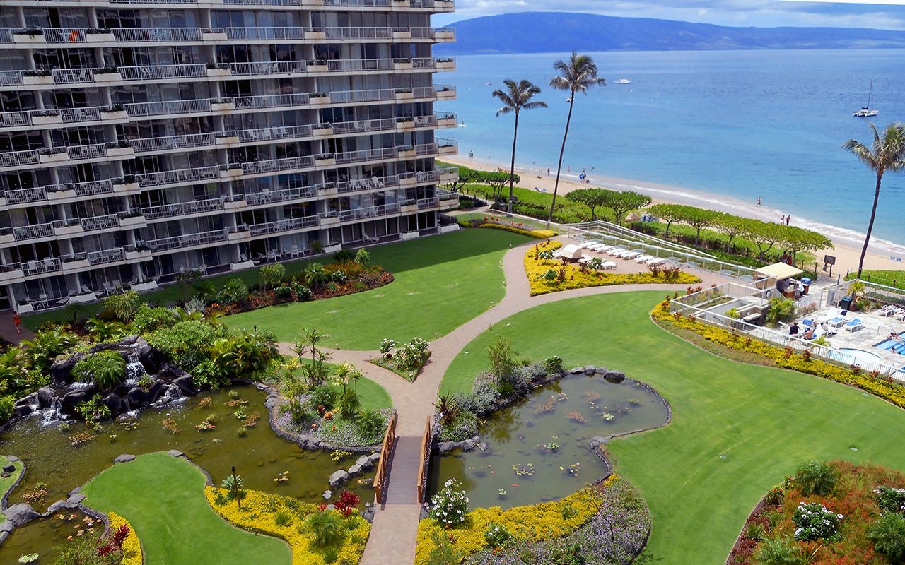 The Whaler On Kaanapali Beach Condos Maui Beachfront Rentals