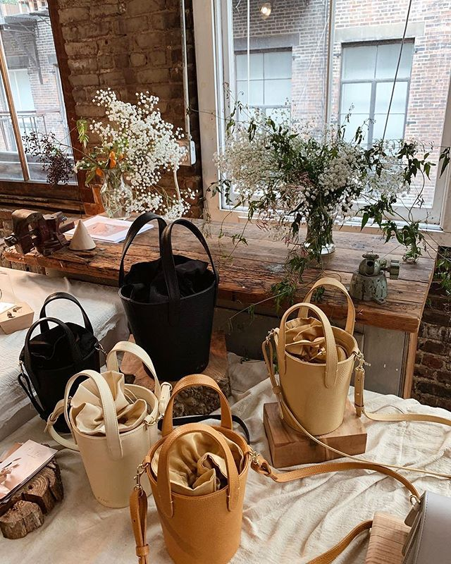 Giving away a Fell Bag at our pop-up with @txtlshop ! November 8th 4-8pm   🍷🥖 Enter to win a bag and a manicure 💅🏻with @skinnwithin with any in-store purchase.  See you soon! 📷@glaaadysg