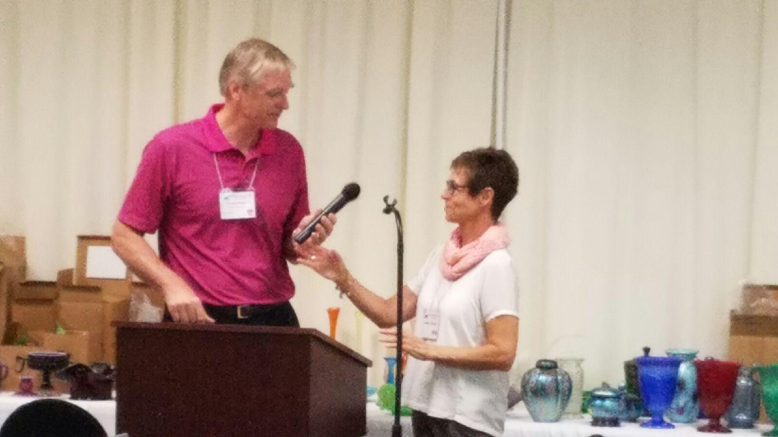 Talk by Nancy and George Fenton on Stretch Glass