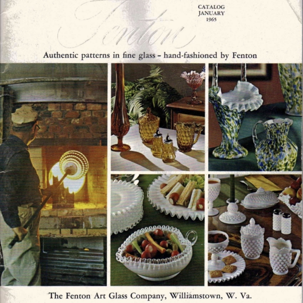 1965 January Fenton Catalog
