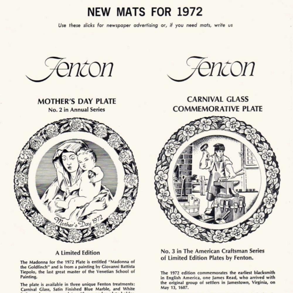 1972 New Mats