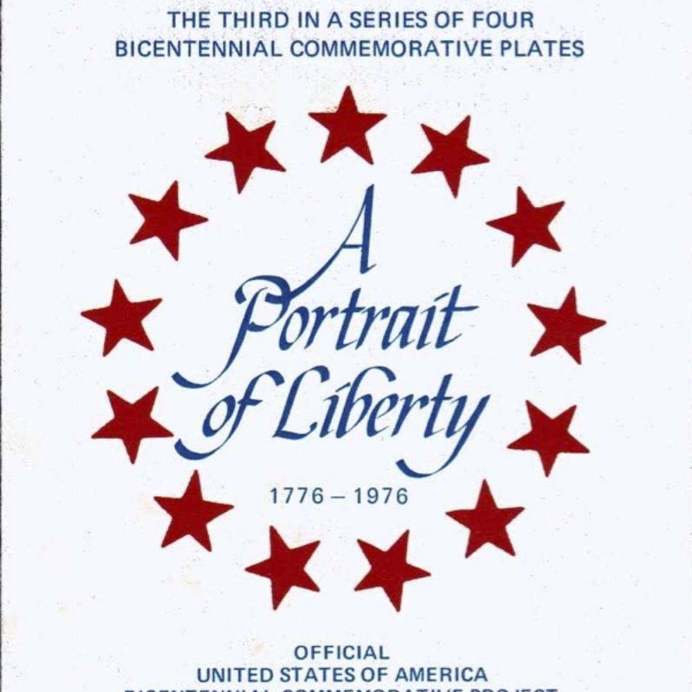1976 Bicentennial Plate 3rd in Series