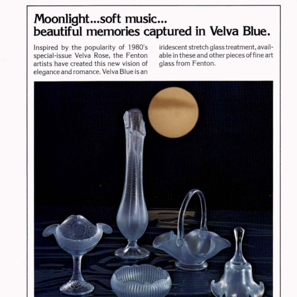 1980s Velva Blue
