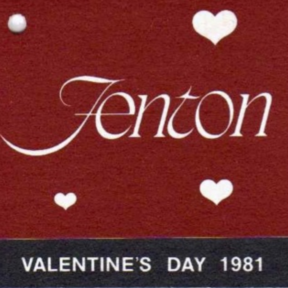 1981 Valentine's Day Hang Tag