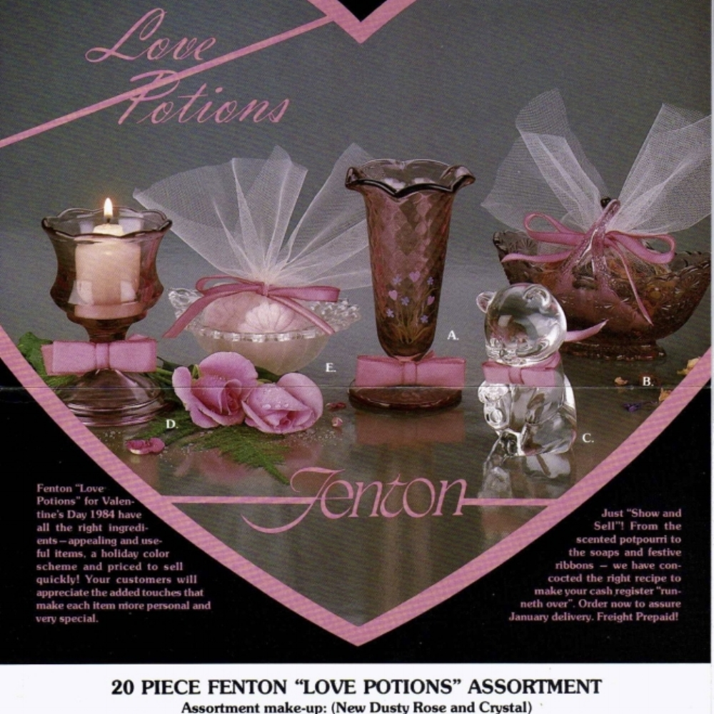1983 Love Potions Flyer