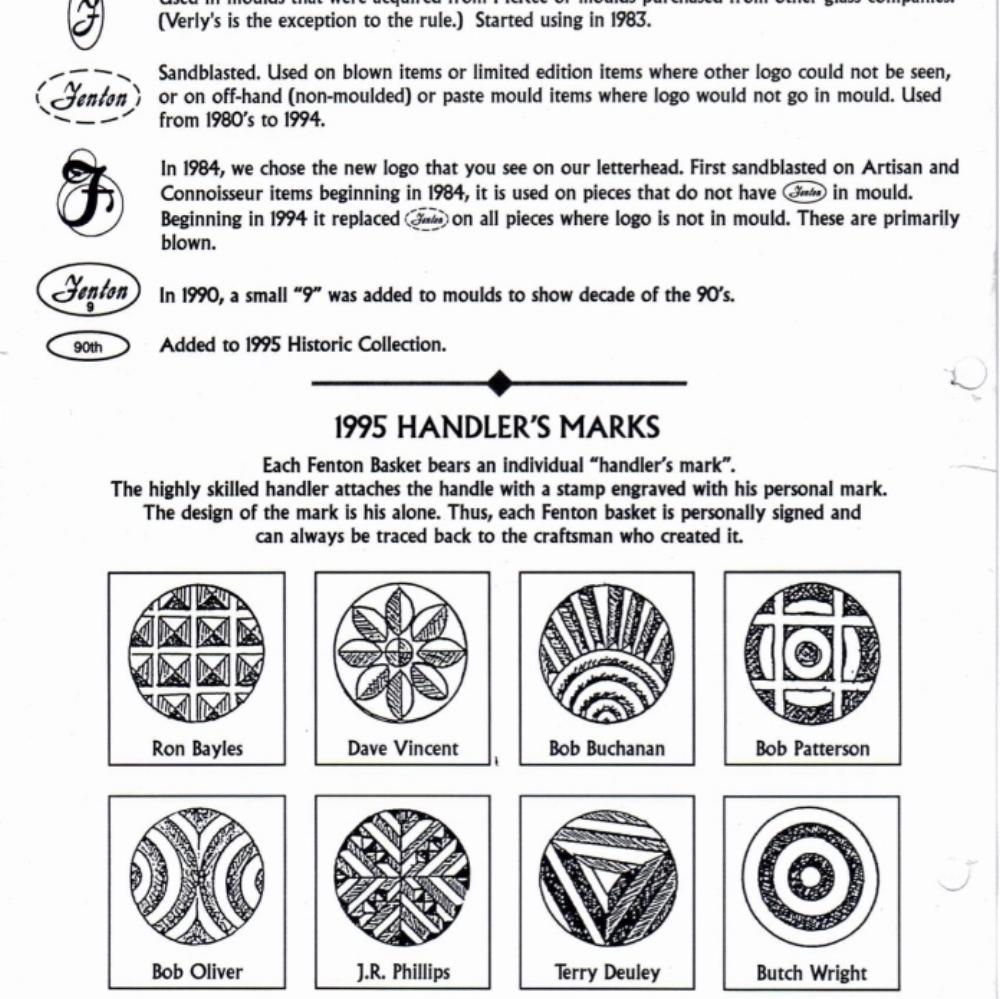 1995 Handlers Marks