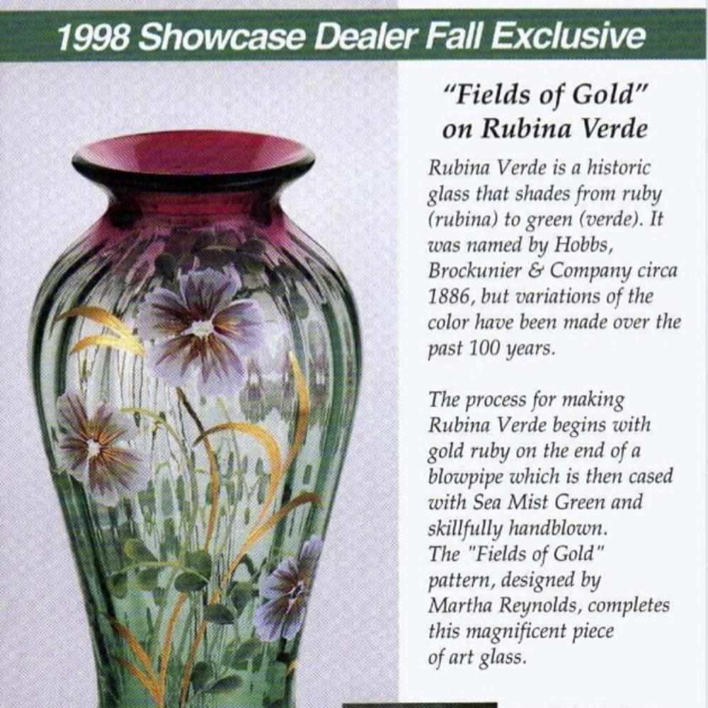 1998 Fall Dealer Excl. Fields-Gold