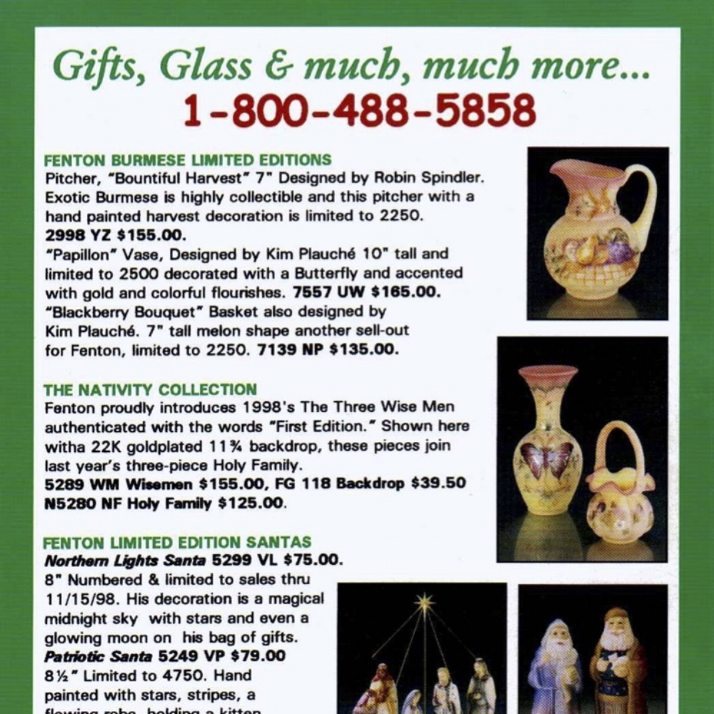 1998 from Gifts Glass & more