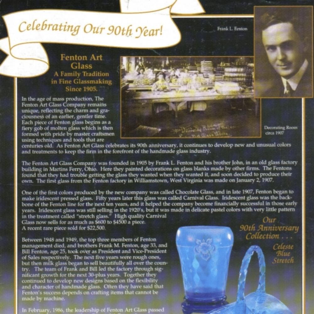1995 Celebrating 90th Anniversary