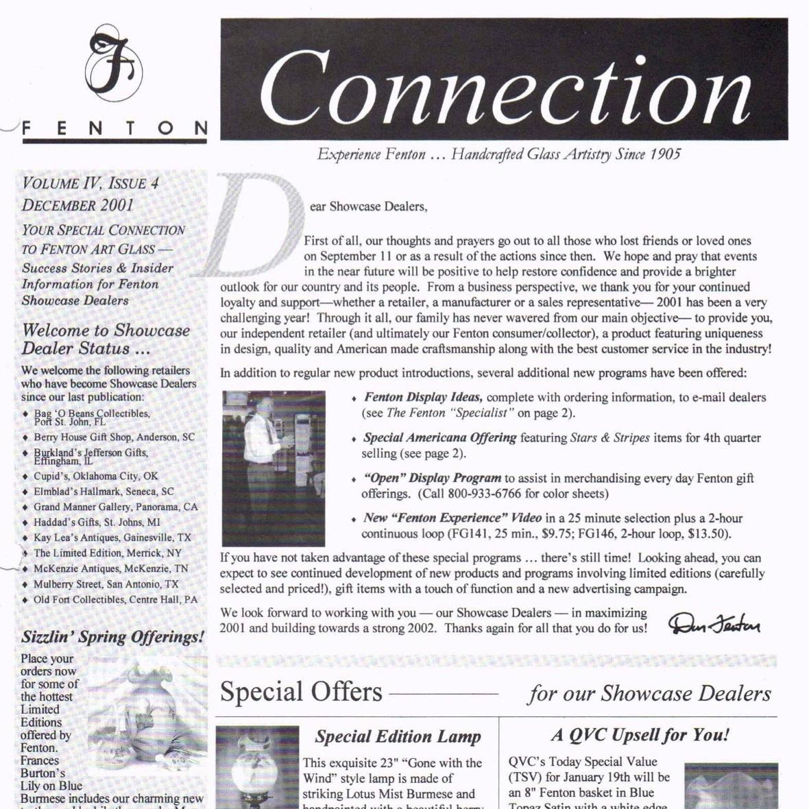 2001 Dec Fenton Connection