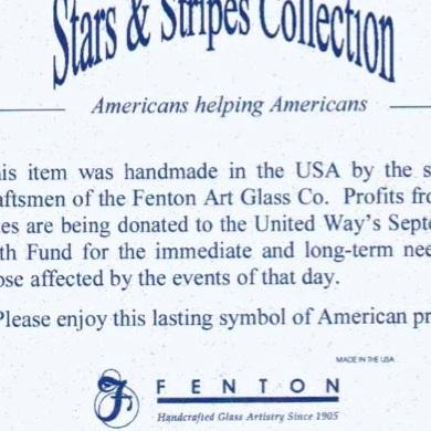 2001 Stars & Stripes Card