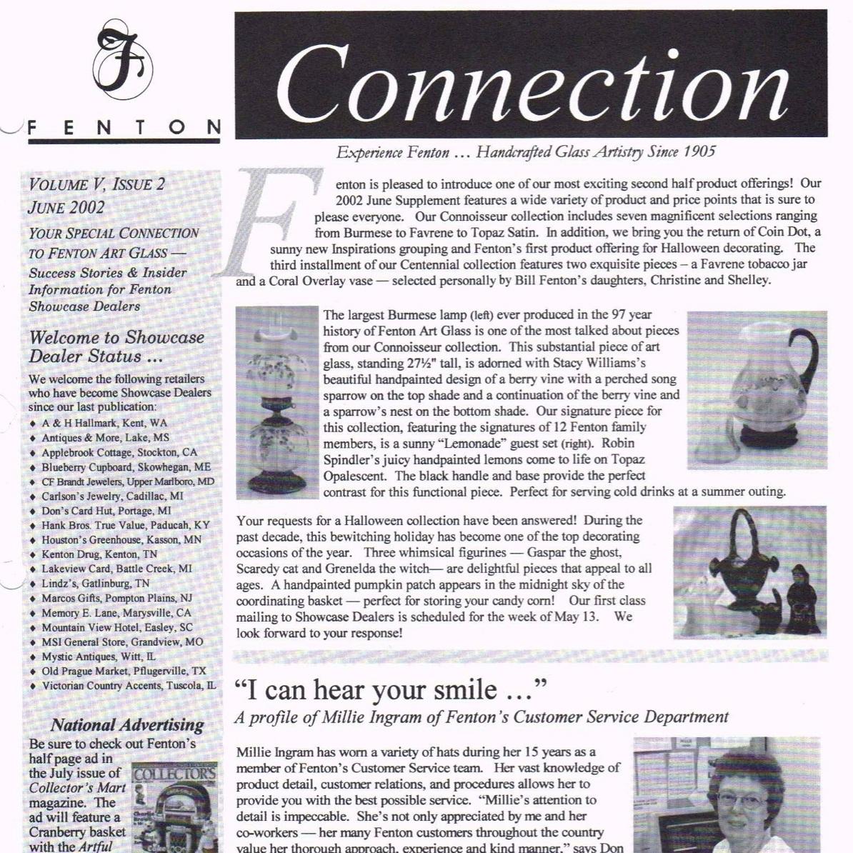2002 June Fenton Connection