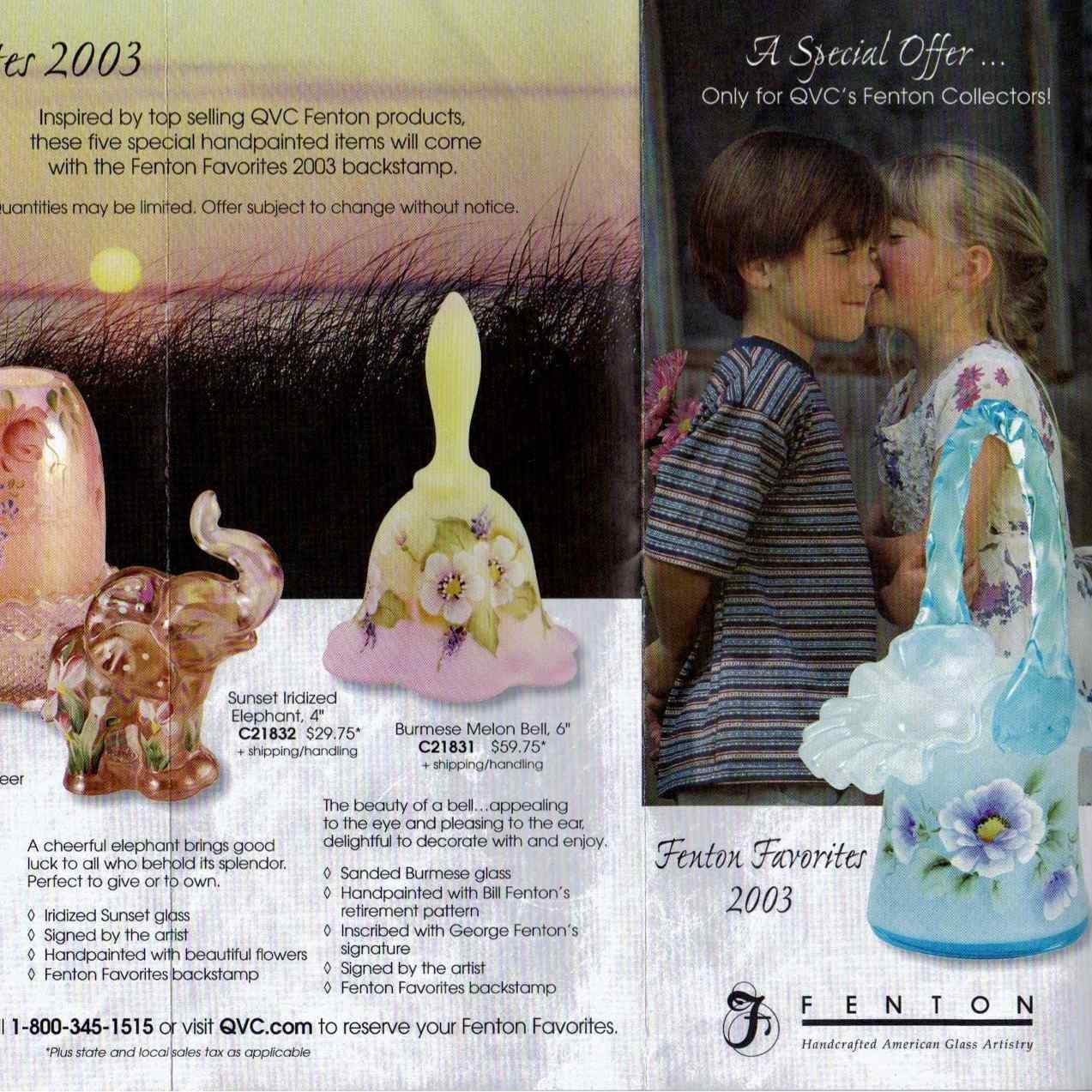 2003 Fenton Favorites