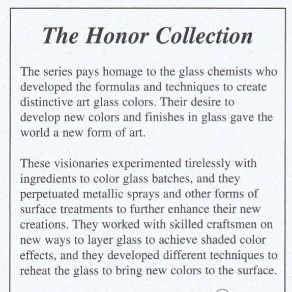 2004 Honor Collection