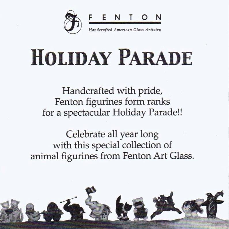 2004 QVC Holiday Parade Card