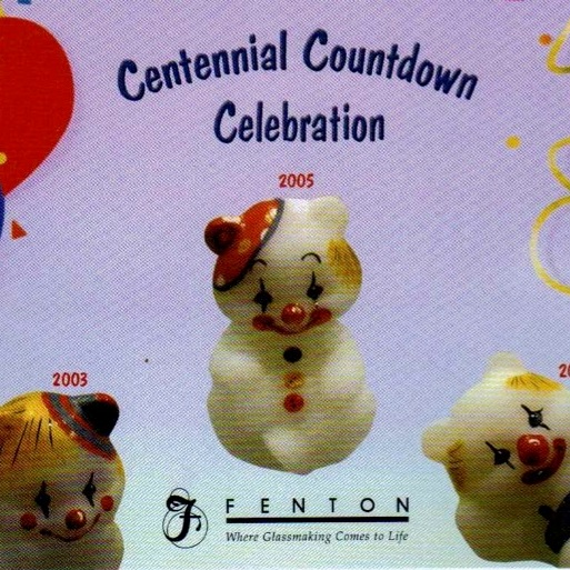 2005 Bear Giveaway Card