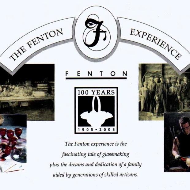 2005 Fenton Experience Card
