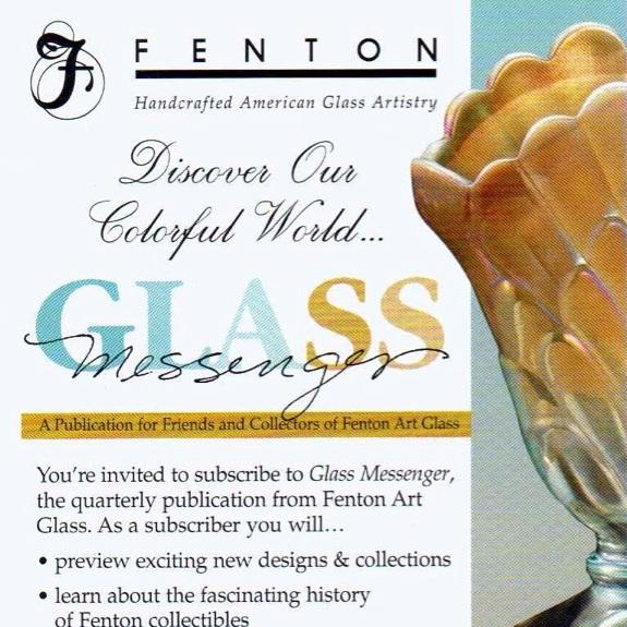 2005 Glass Messenger Card
