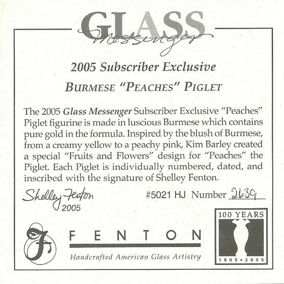 2005 Glass Messenger Subscr.
