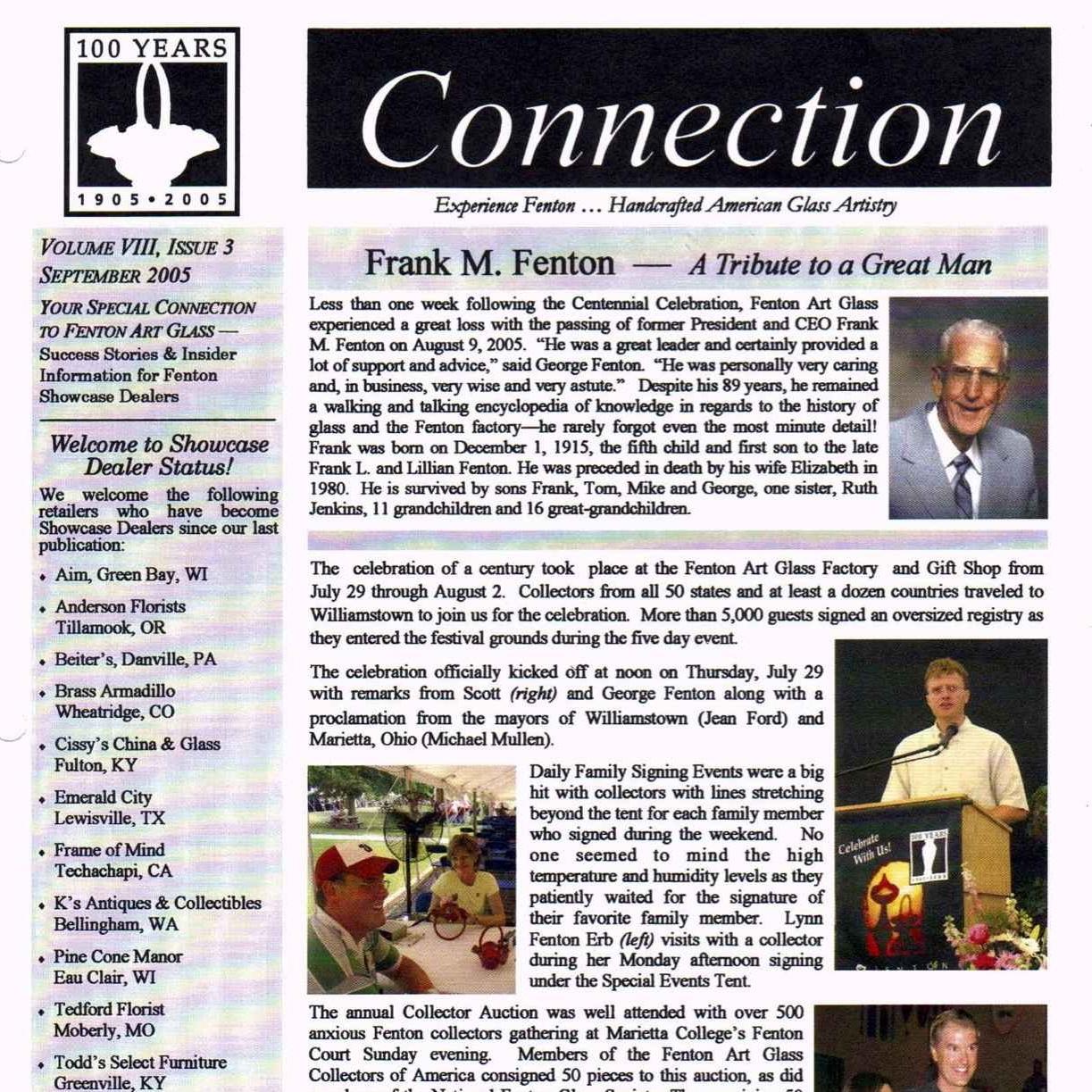 2005 Sept Fenton Connection
