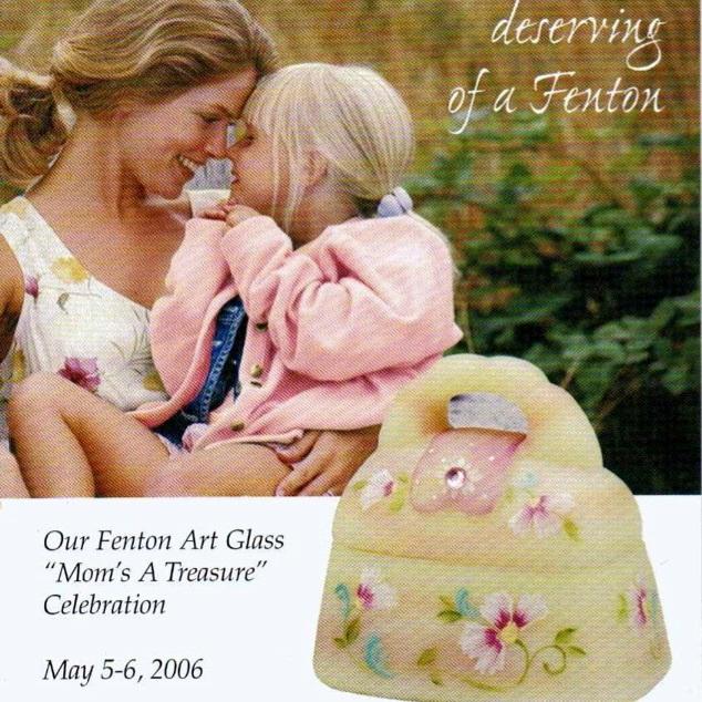 2006 Mom's a Treasure Postcard